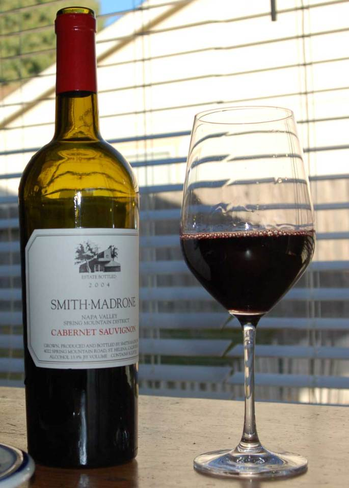 2004 Smith-Madrone, Napa Valley, Cabernet Sauvigon